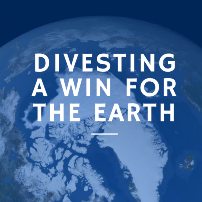 Divesting A Win For The Earth